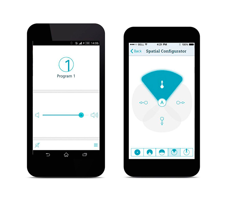 App de Aparelho Auditivo touchControl