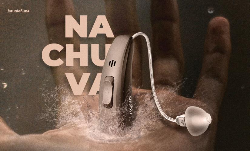 Cuidados com o aparelho auditivo na chuva